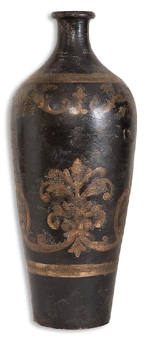 Uttermost Accessories Mela Tall Vase