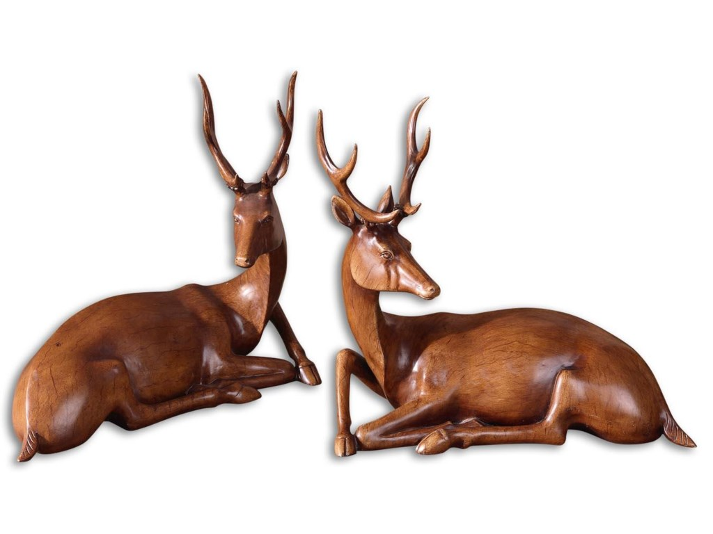 Uttermost AccessoriesBuck Statues Set of 2