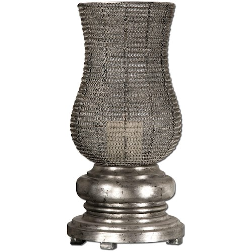 Uttermost Accessories Rickma Silver Candleholder