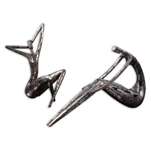 Uttermost Accessories Dahy Statues Set of 2
