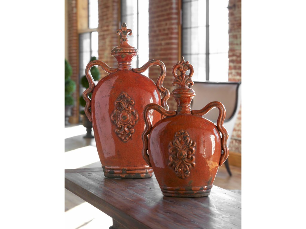 Uttermost AccessoriesRaya Containers Set of 2