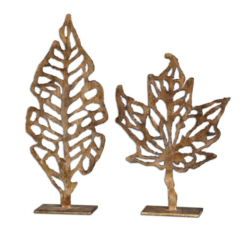 Uttermost Accessories Hazuki Sculpture Set of 2