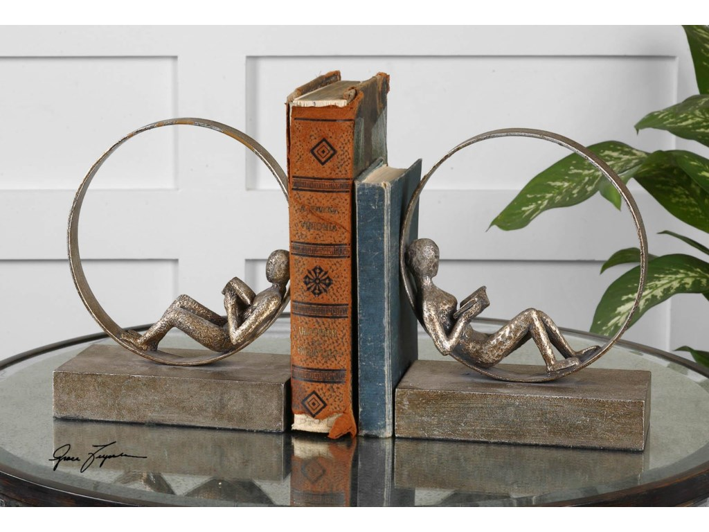 Uttermost AccessoriesLounging Reader Bookends Set of 2