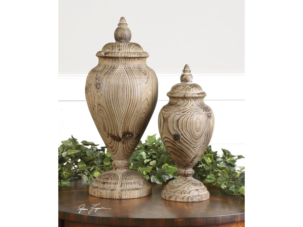 Uttermost AccessoriesBrisco Finials Set of 2