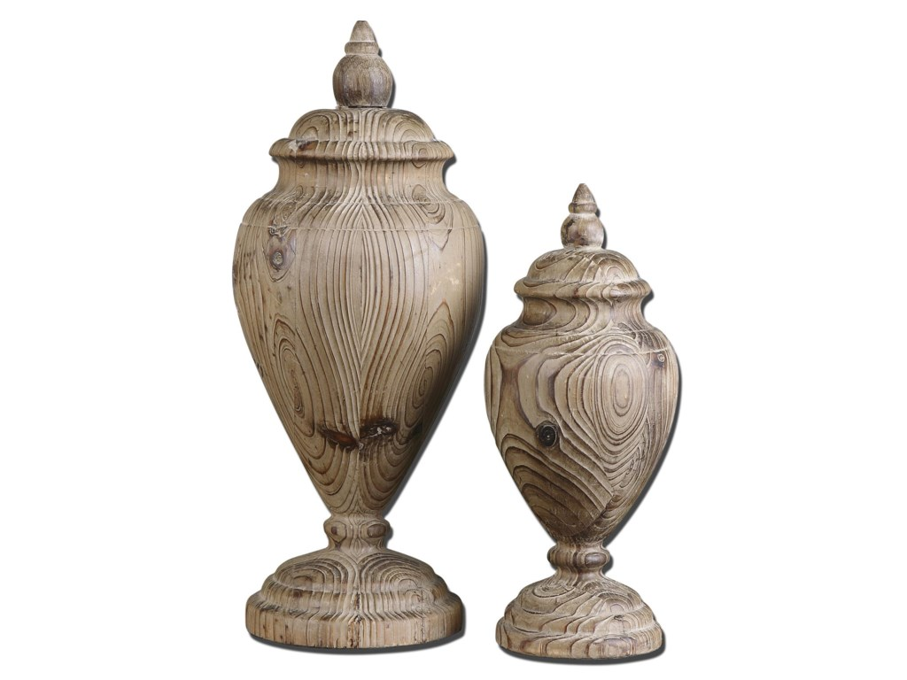 Uttermost Accessories - Statues and FigurinesBrisco Finials Set of 2