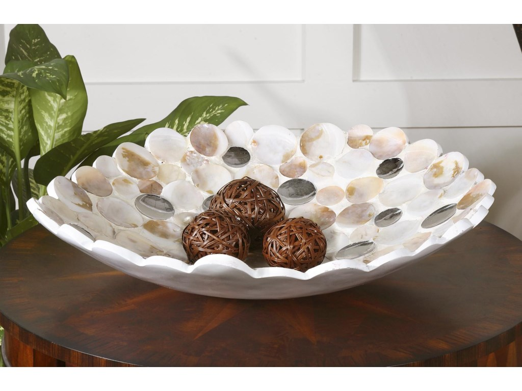 Uttermost AccessoriesCapiz Bowl