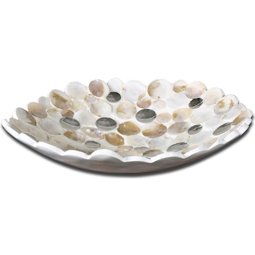 Uttermost Accessories Capiz Bowl