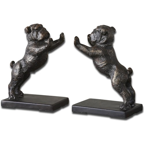 Uttermost Accessories Bulldogs Set of 2