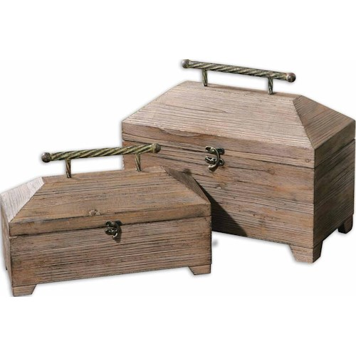 Uttermost Accessories - Boxes Tadao Set of 2