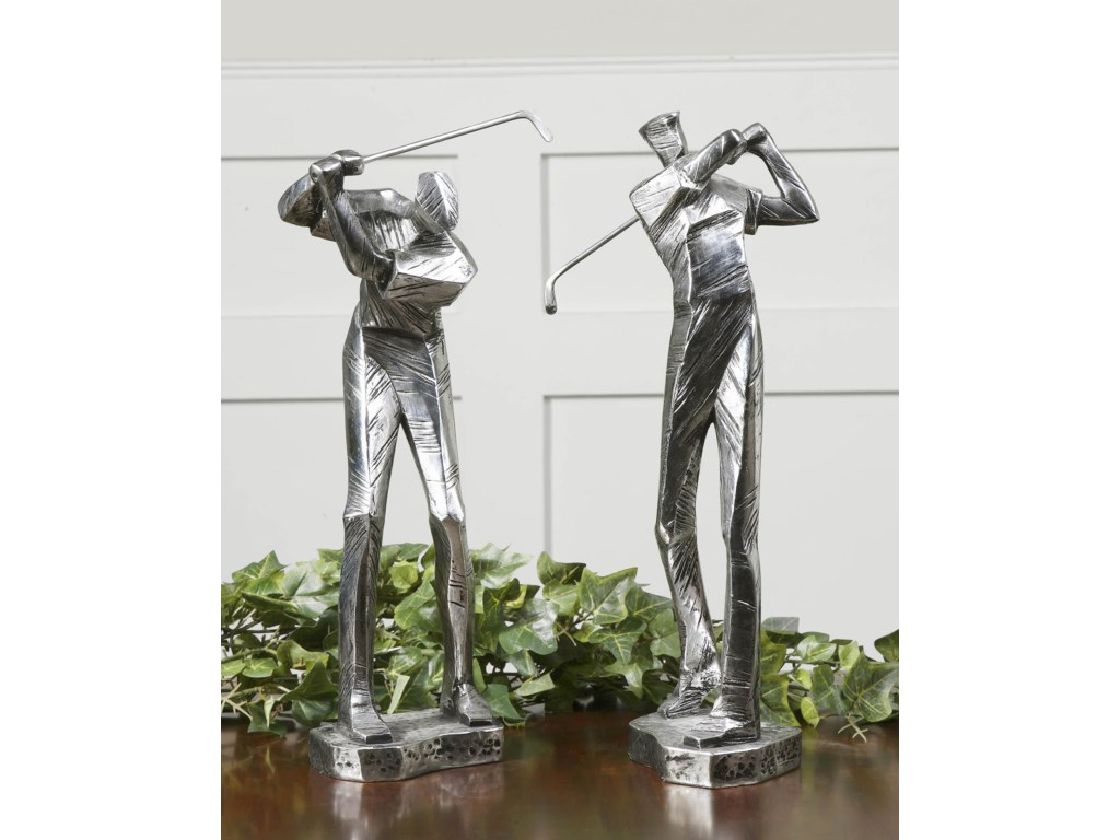 Uttermost Accessories - Statues and FigurinesPractice Shot Set of 2