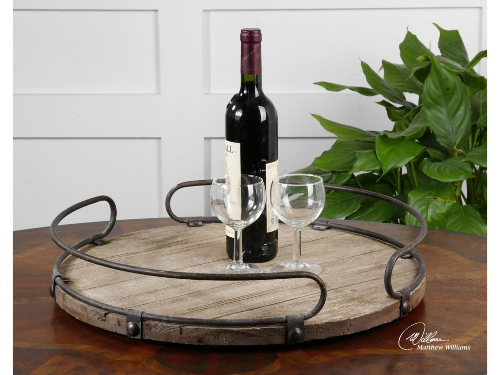 Uttermost AccessoriesAcela Tray