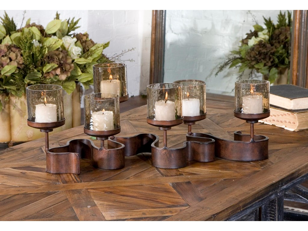 Uttermost Accessories - Candle HoldersRibbon