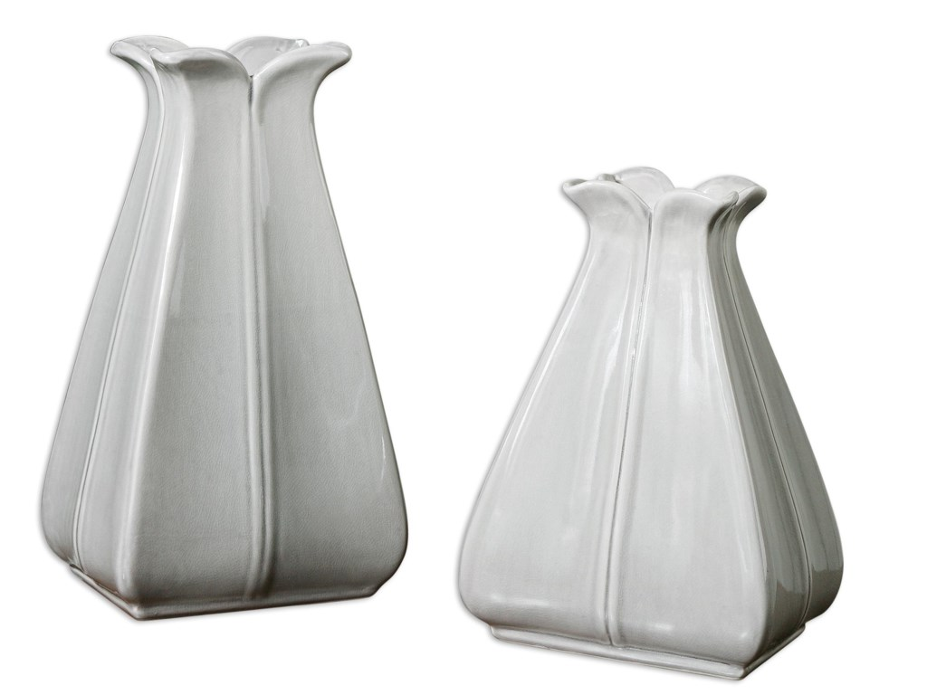 Uttermost Accessories - Vases and UrnsFlorina Vases Set of 2