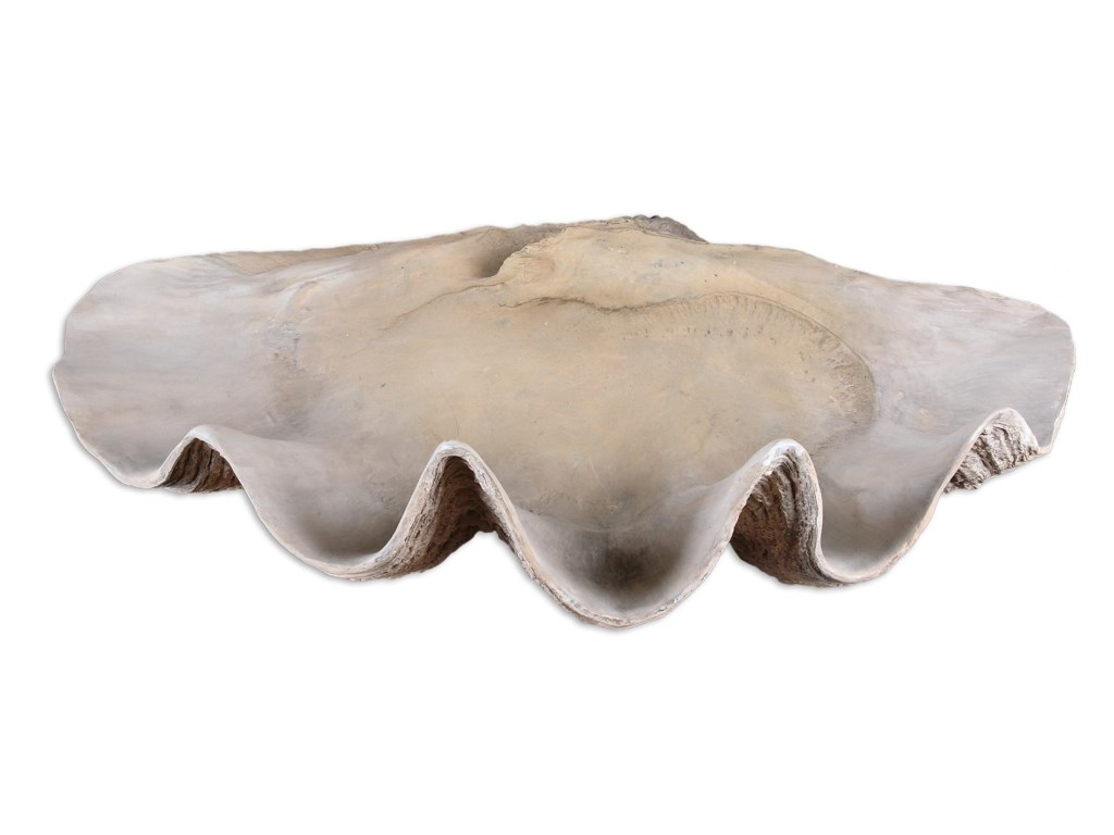 Uttermost AccessoriesClam Shell Bowl