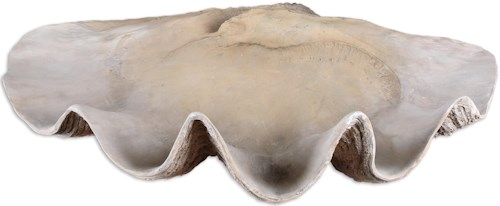 Uttermost Accessories Clam Shell Bowl