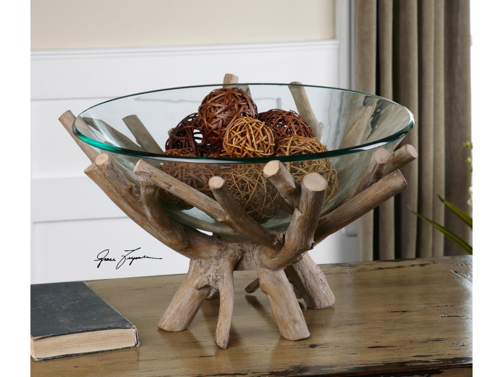 Uttermost AccessoriesThoro Wood Bowl
