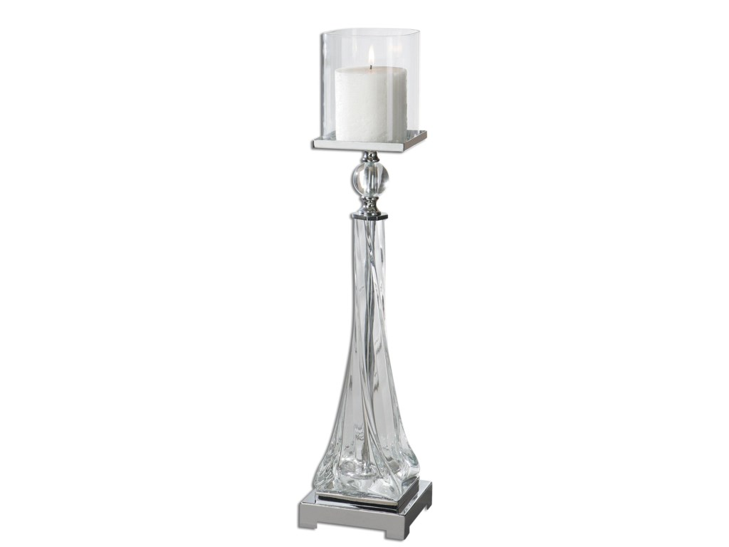Uttermost AccessoriesGrancona Glass Candleholder