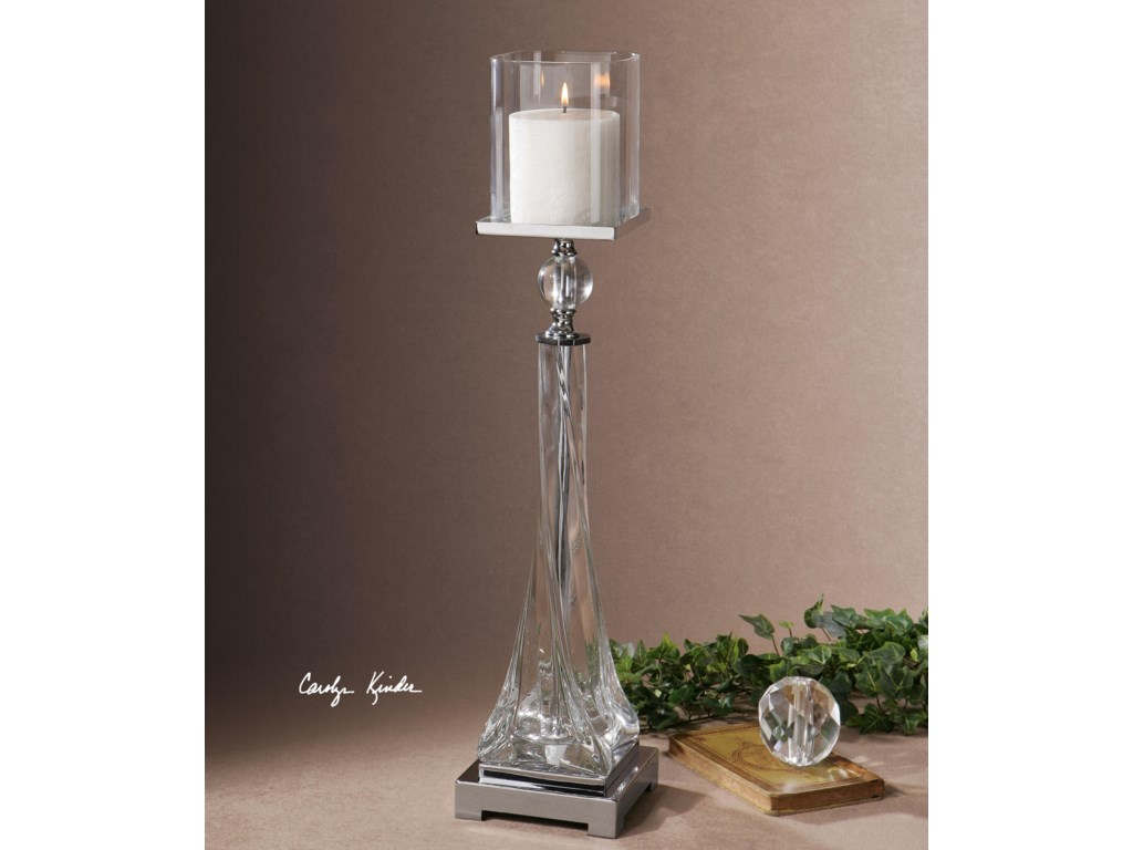 Uttermost Accessories - Candle HoldersGrancona Glass Candleholder