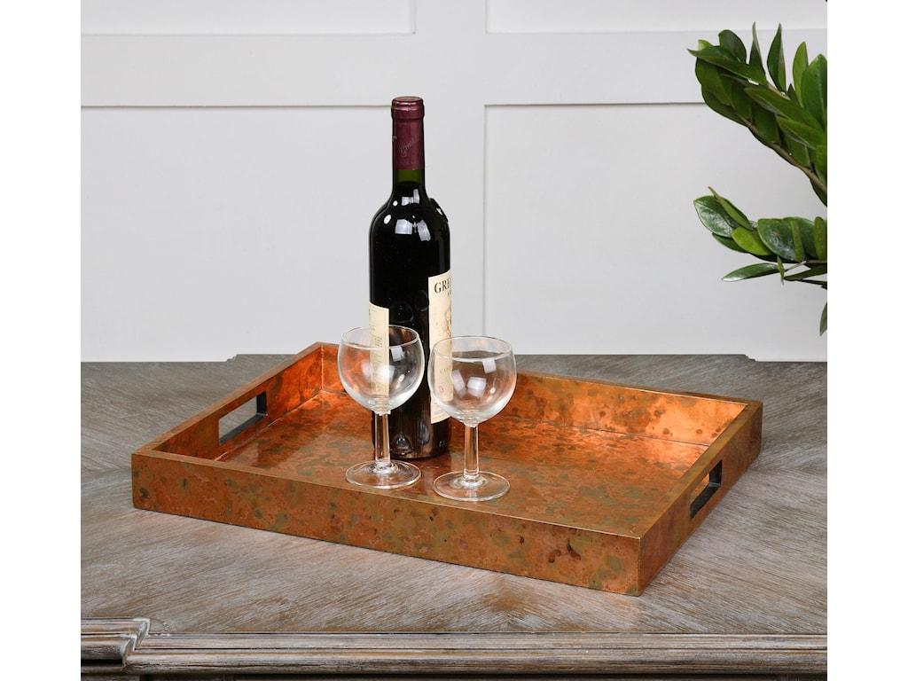 Uttermost AccessoriesAmbrosia Copper Tray