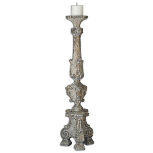 Uttermost Accessories Gillis Large Candleholder