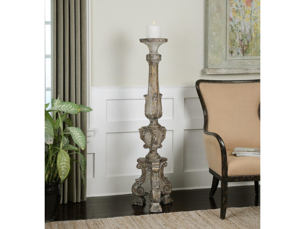 Uttermost Accessories - Candle HoldersGillis Large Candleholder