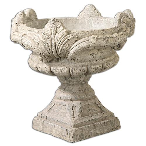 Uttermost Accessories Elske Stone Planter