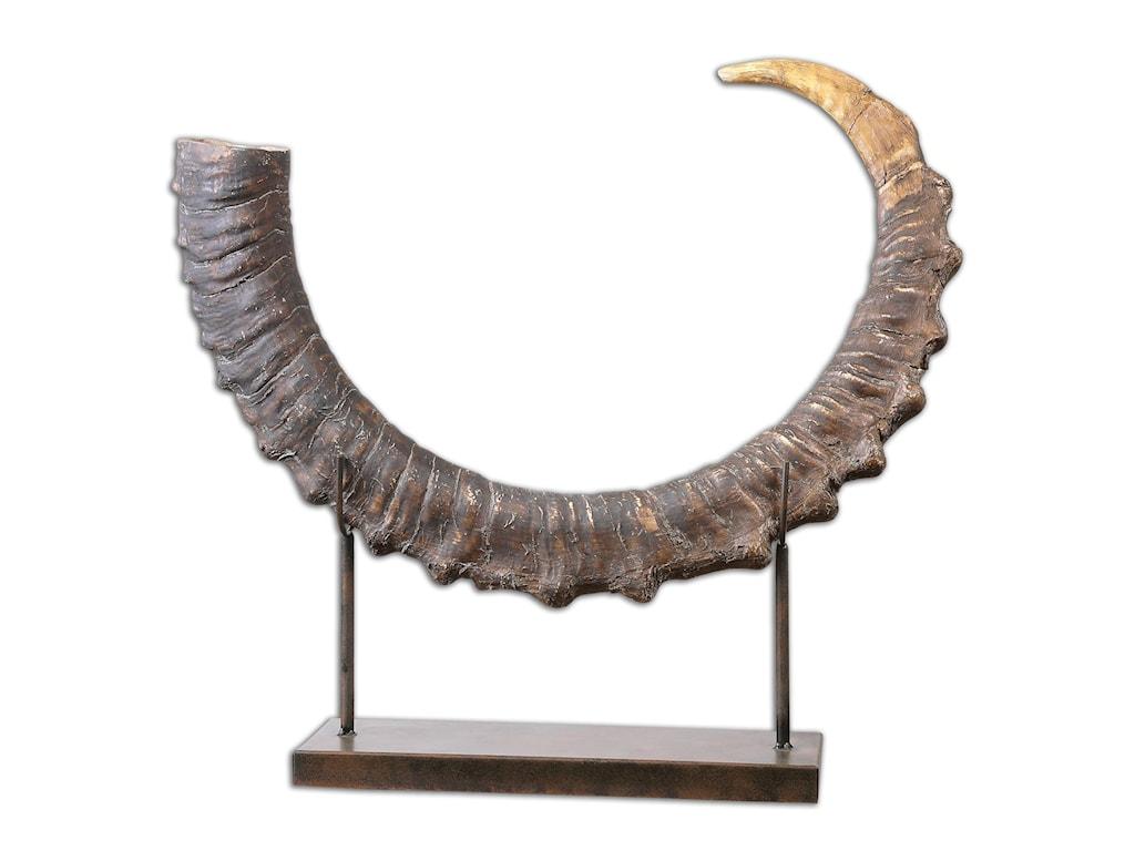 Uttermost AccessoriesSable Antelope Horn Sculpture