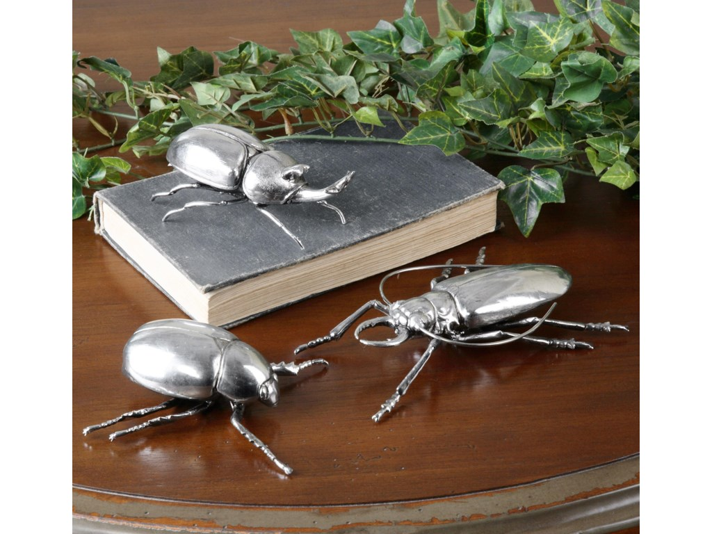 Uttermost AccessoriesBeetles, Set of 3