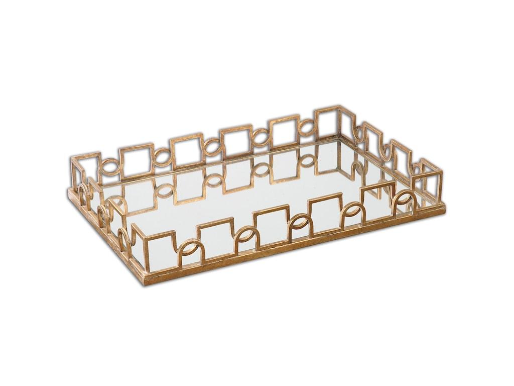 Uttermost AccessoriesNicoline Mirrored Tray