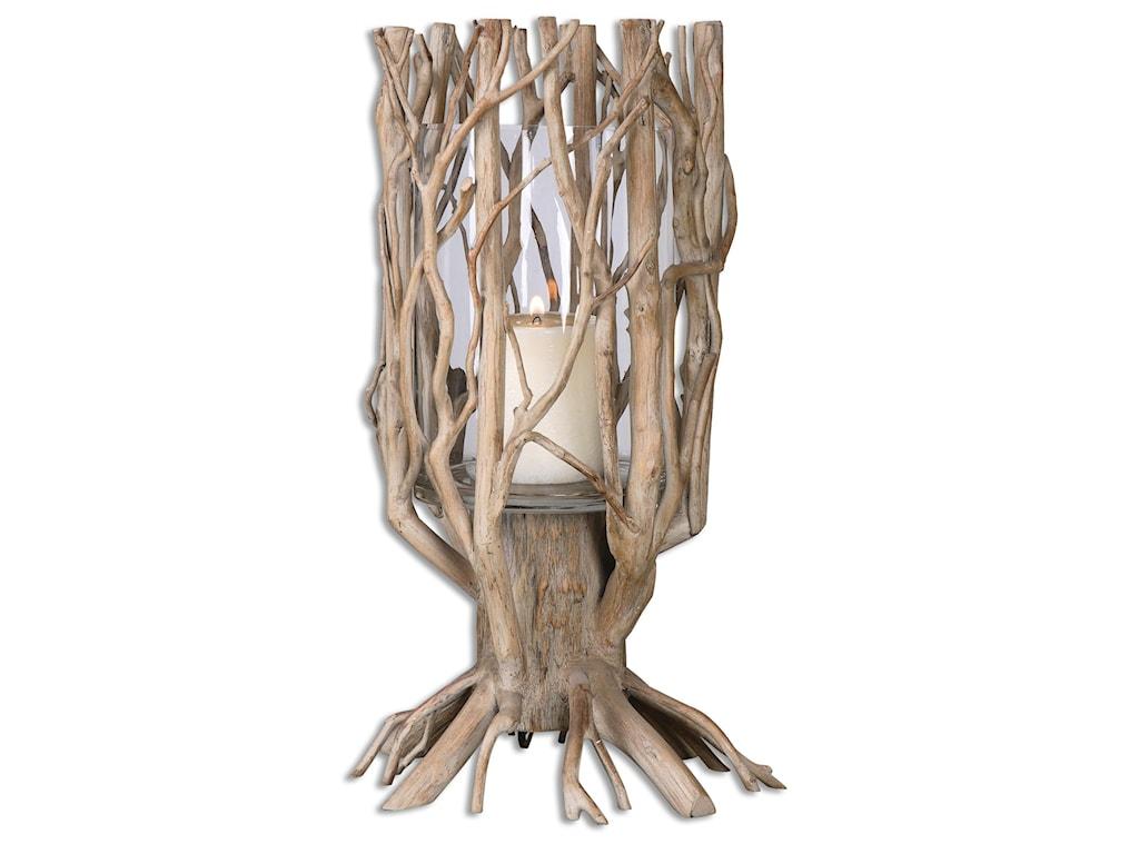 Uttermost AccessoriesUgo Natural Wood Candleholder