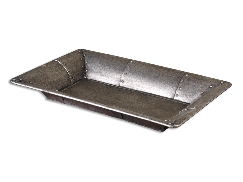 Uttermost AccessoriesArya Studded Metal Tray