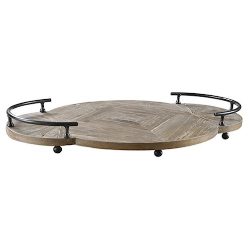 Uttermost Accessories Baku Wooden Tray