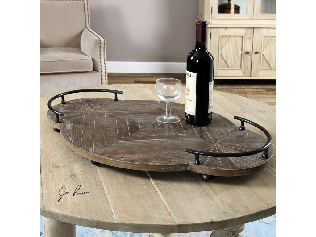 Uttermost AccessoriesBaku Wooden Tray