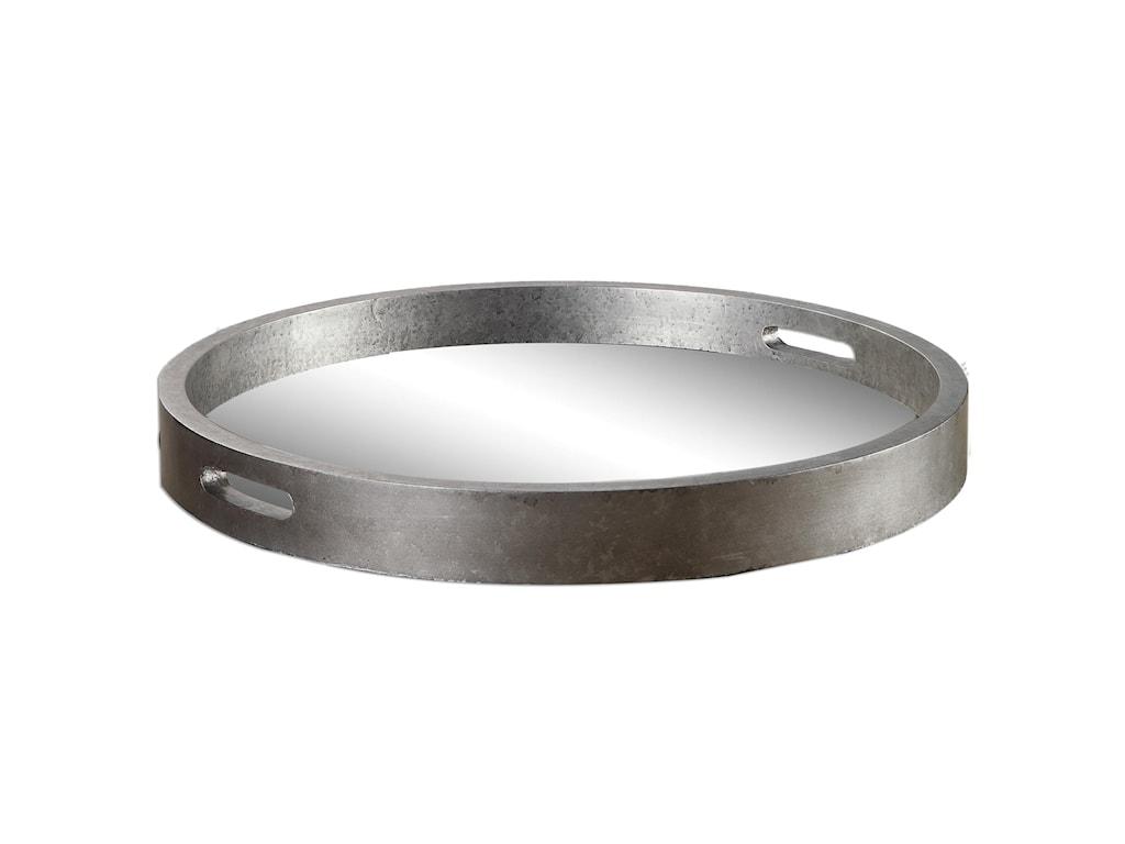Uttermost AccessoriesBechet Round Silver Tray