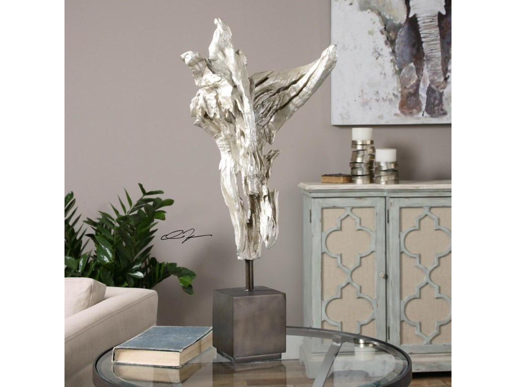 Uttermost Accessories - Statues and FigurinesArjan Silver Driftwood