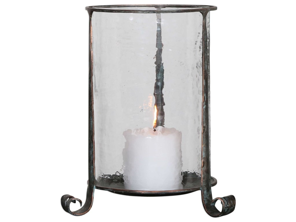Uttermost Accessories - Candle HoldersNicia Bronze Candleholder