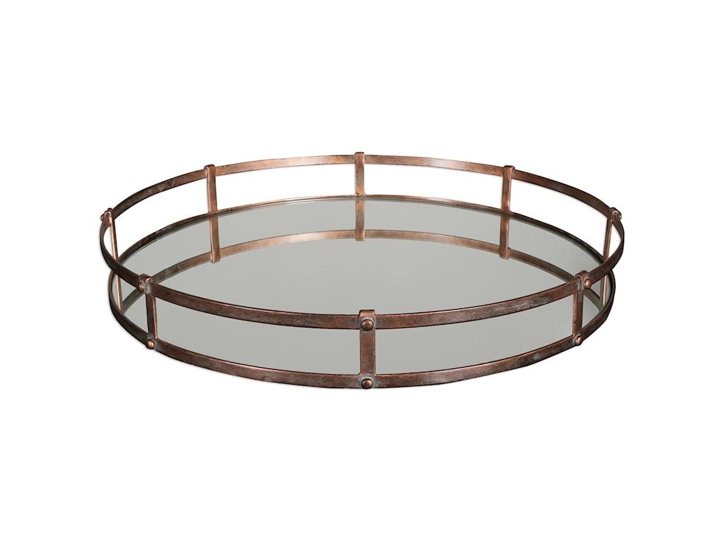 Uttermost AccessoriesNunzio Mirrored Tray