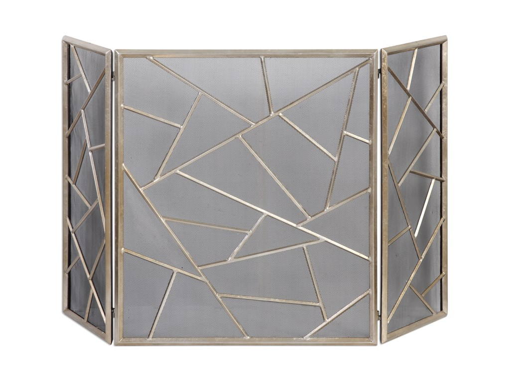 Uttermost AccessoriesArmino Modern Fireplace Screen
