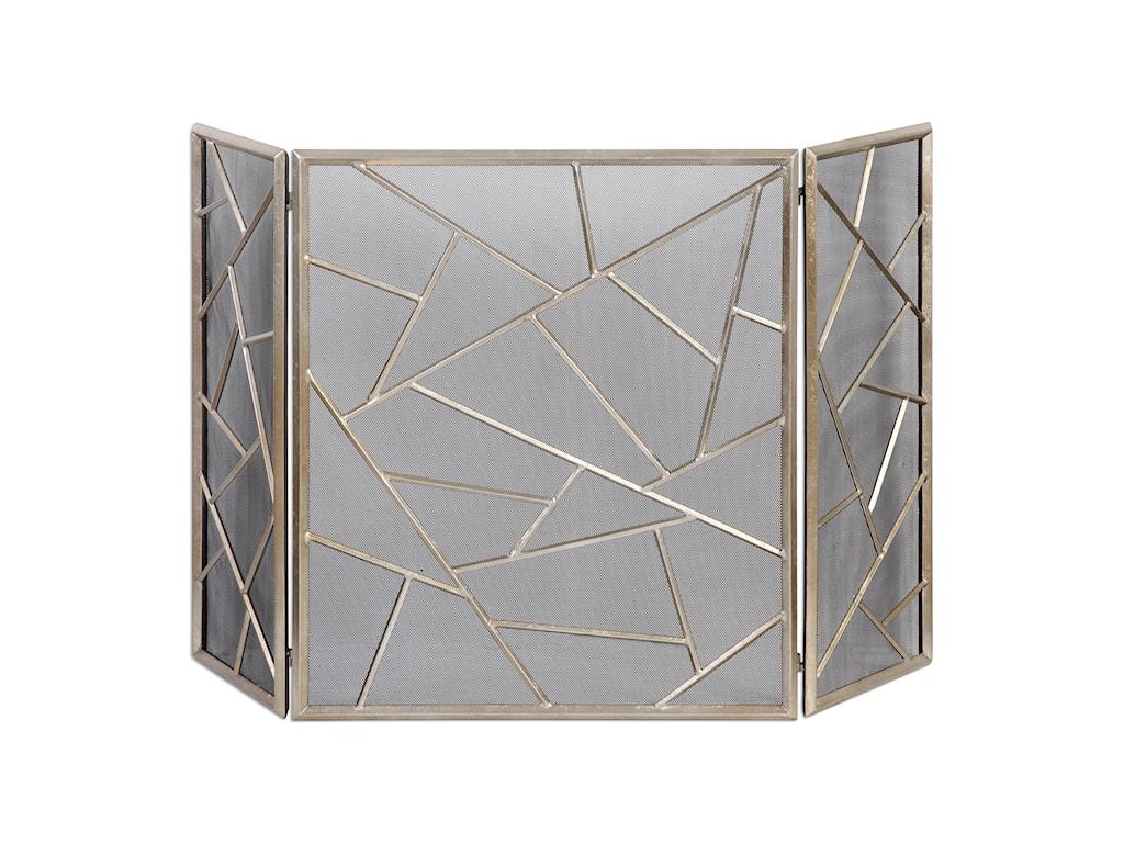 Uttermost AccessoriesArmino Modern Fireplace Screen