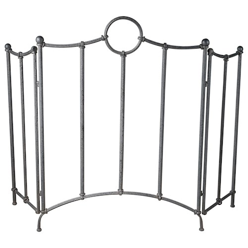 Uttermost Accessories Aditya Iron Fireplace Screen