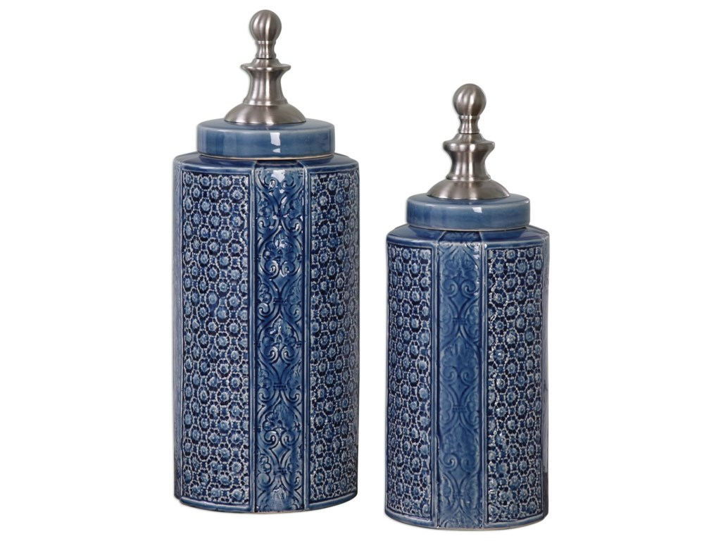 Uttermost AccessoriesPero Urns (Set of 2)