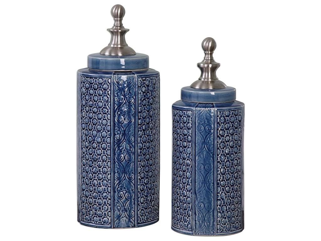 Uttermost AccessoriesPero Urns (Set of 2)