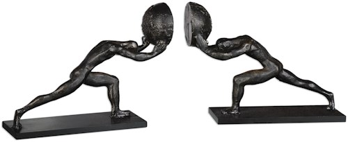 Uttermost Accessories Weight Of The World Bookends