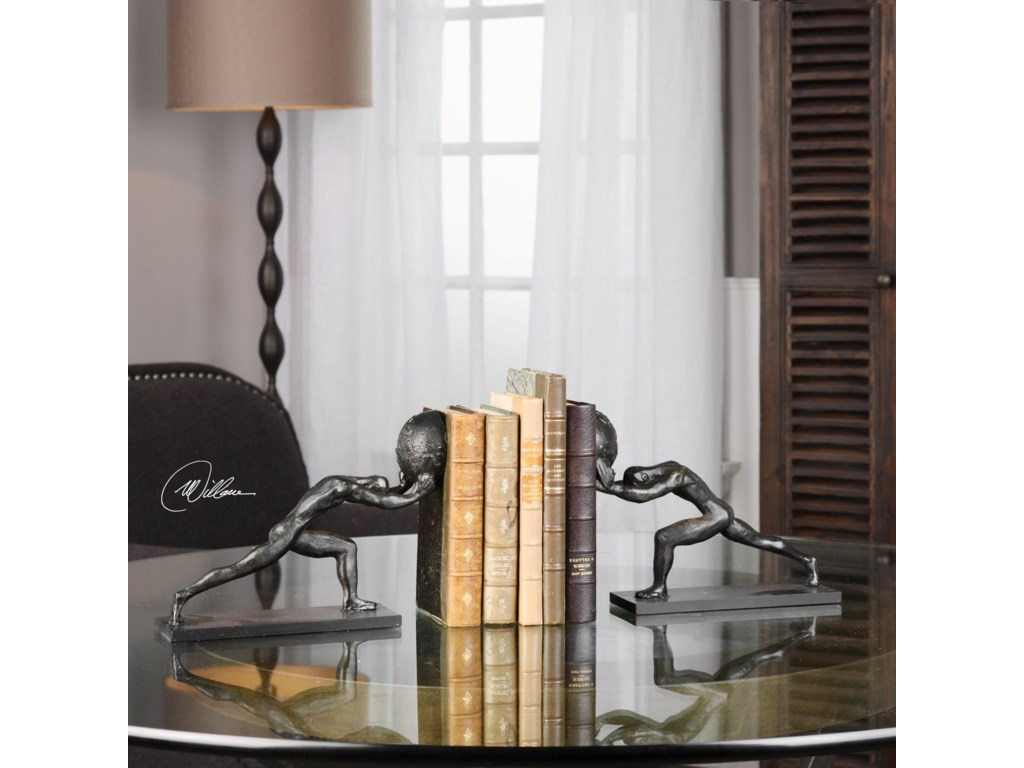 Uttermost AccessoriesWeight Of The World Bookends