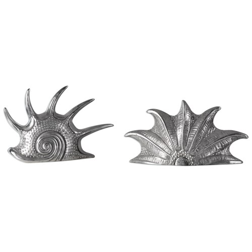 Uttermost Accessories Marine Mollusc (Set of 2)