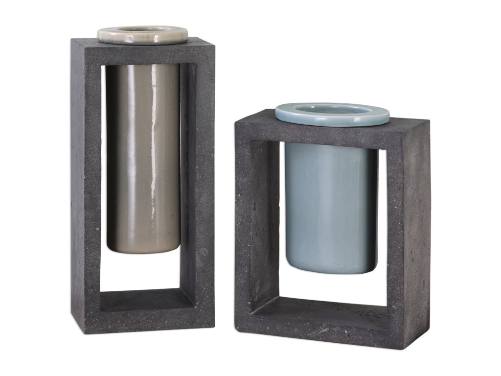 Uttermost AccessoriesPio Vases (Set of 2)