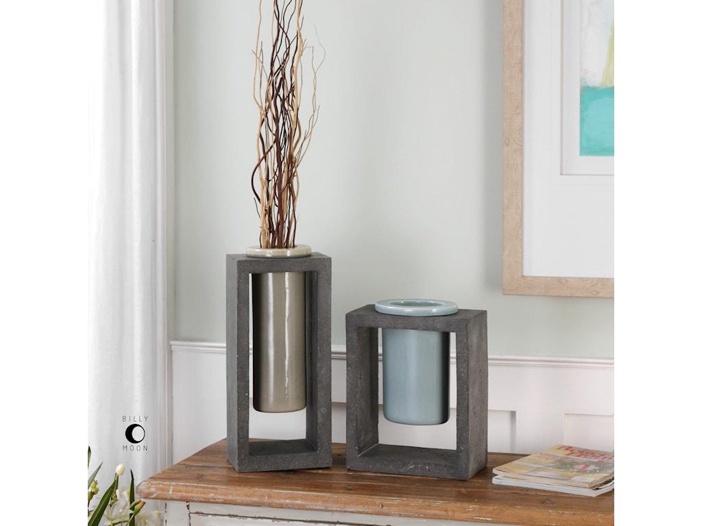 Uttermost AccessoriesPio Vases (Set of 2)
