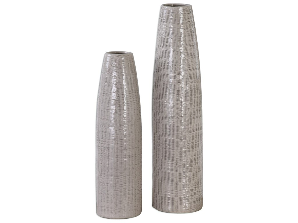 Uttermost Accessories - Vases and UrnsSara Vases (Set of 2)