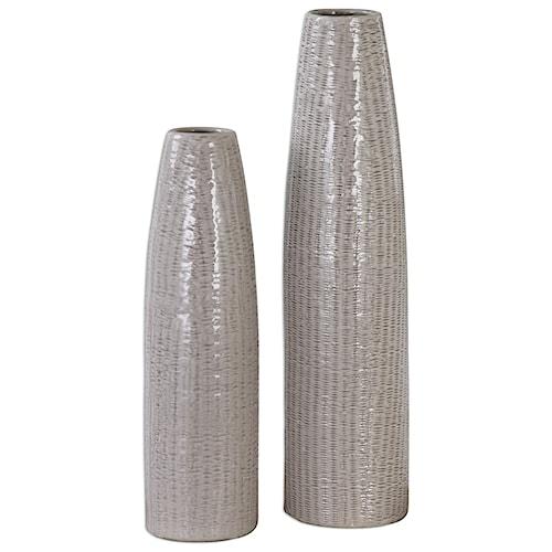 Uttermost Accessories Sara Vases (Set of 2)