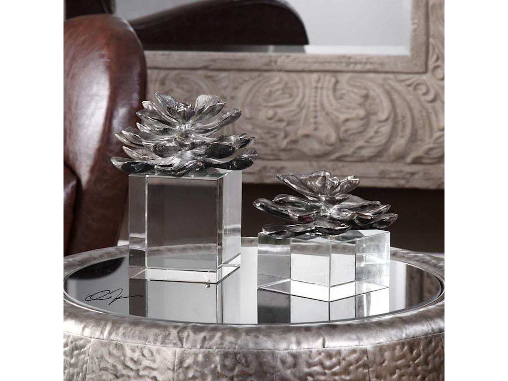 Uttermost AccessoriesIndian Lotus (Set of 2)